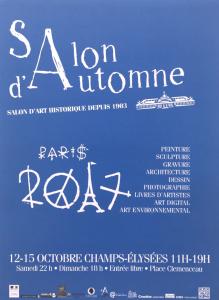 Salon d'Automne 12-15 Octobre 2017 Champs-Elysées 11H-19H
